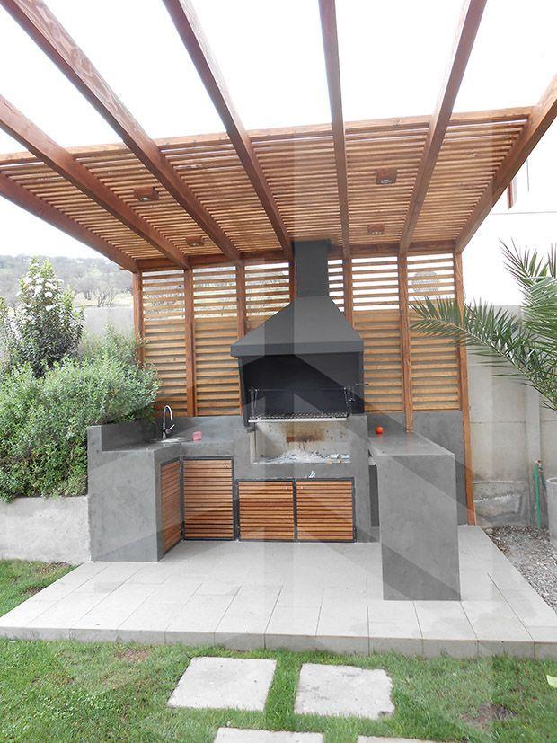 asadores para jardin
