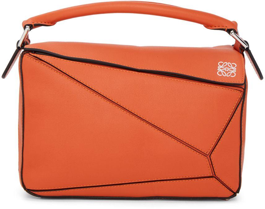 LOEWE Orange Small Puzzle Bag   Bags   Pinterest   Loewe, Duffle ... fde124a2ab