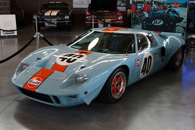 Eleven Million Dollar Ford Gt40 At Larry Miller Museum Ford Gt40