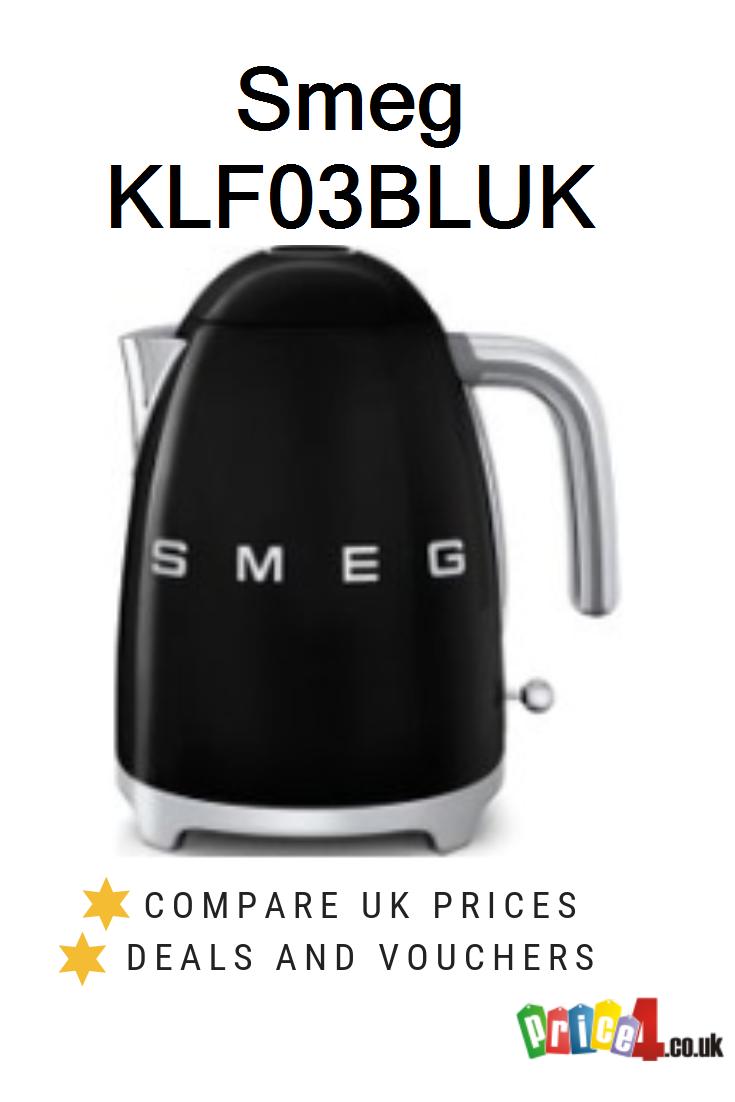 SMEG KLF03BLUK Jug Kettle Black