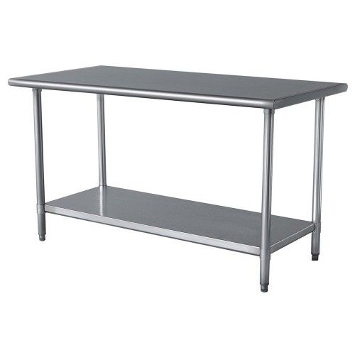 Pin By Kimberly Bee Design On 8f Stainless Steel Work Table Stainless Steel Table Kitchen Work Tables