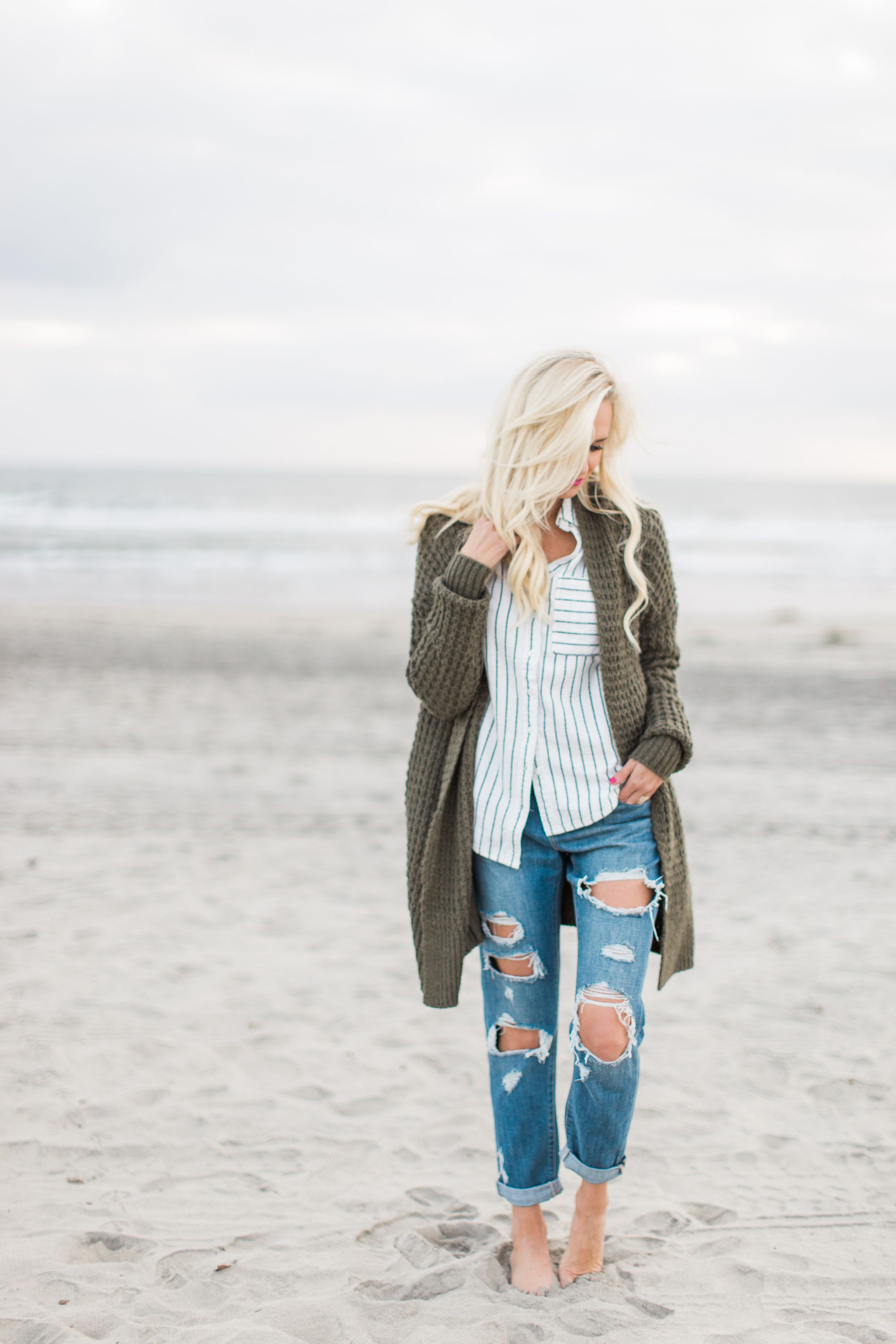 c985d95bf31 Winter Beach Style in Southern California