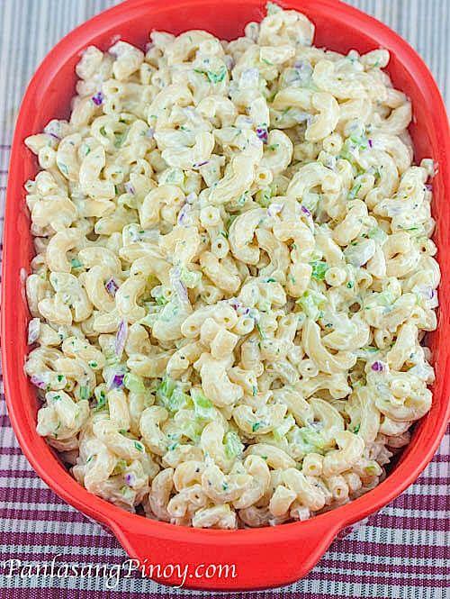 Pasta Salad Recipe Elbow