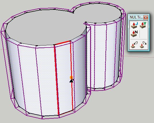 Sketchup Plugins Extruding And Offsetting Curved Faces