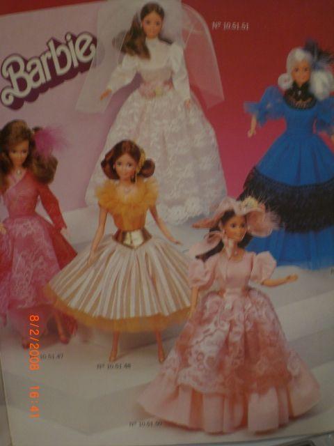 Colecao Barbie Catalogos Da Estrela De 1982 1983 1984 1985