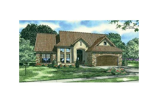 2338 square feet european style 4 bedroom, 3 bath with 2 garage