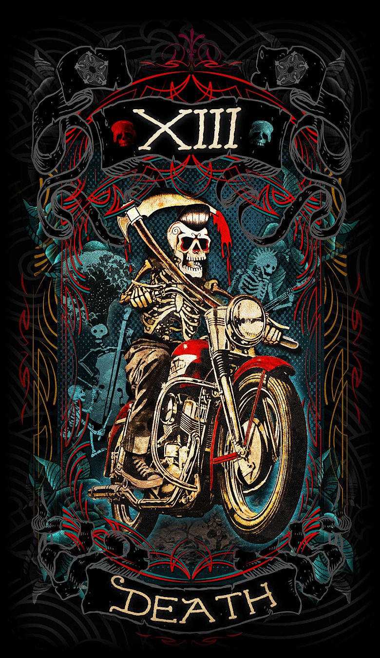 Pin By Psychobilly Tarot On Psychobilly Tarot Card Art In