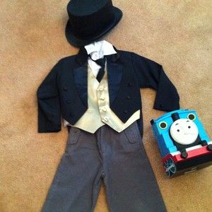 Sir Topham Hat Thomas The Train Halloween Costume 4 4t & Sir Topham Hat Thomas The Train Halloween Costume 4 4t | Costumes ...