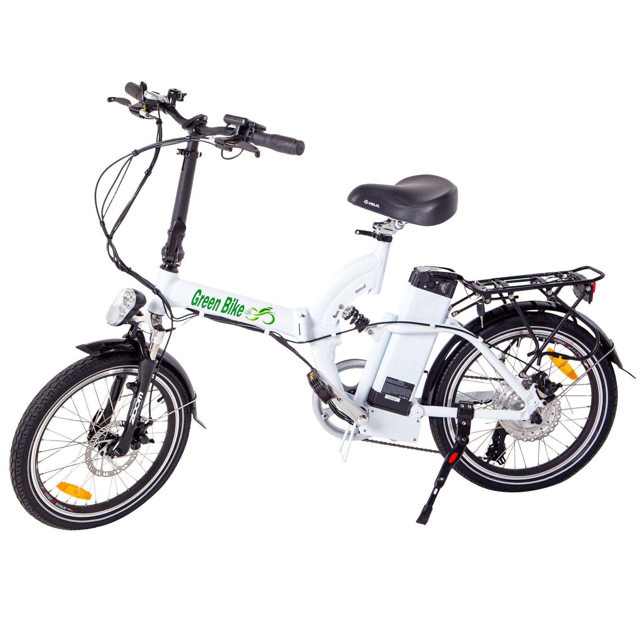 Green Bike Usa Gb500 48v 500w Cruiser Folding Electric