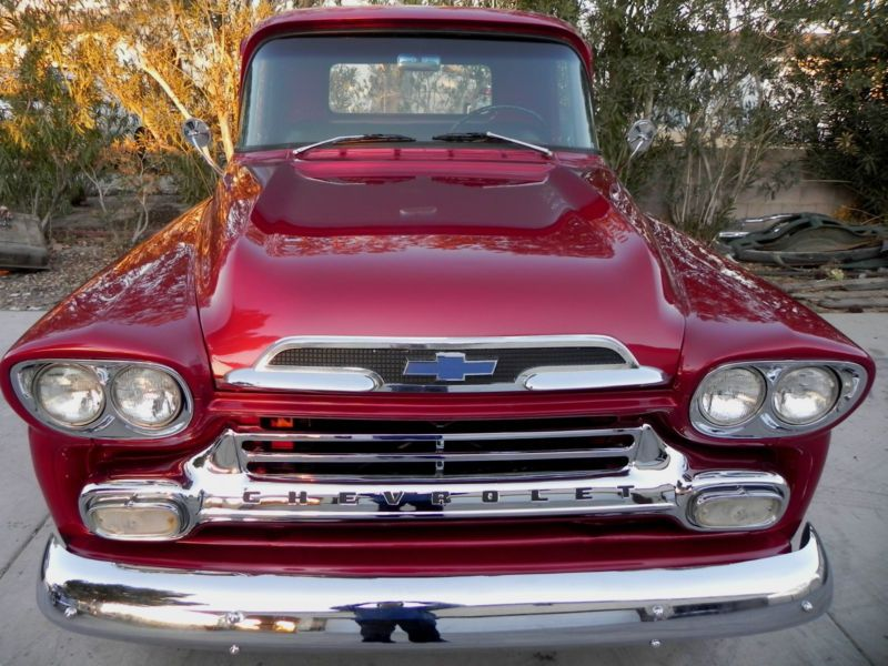 1959 Chevy 3100 Apache V8 4 Wheel Drive Pickup Truck Ours Is In