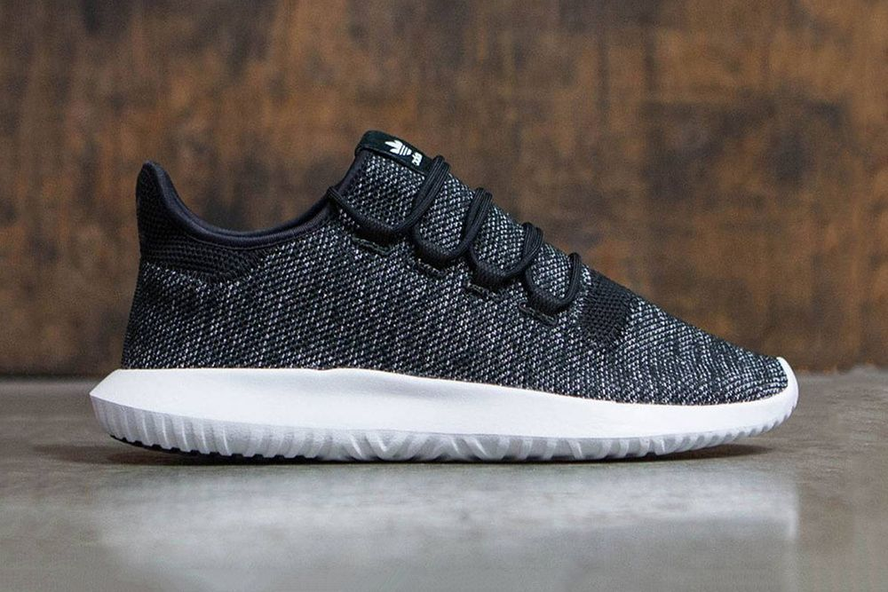 newest a7dea c3840 Adidas Originals Tubular Shadow Knit Black