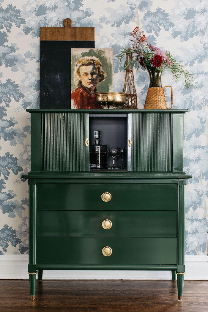 Wilmette Tudor Project Reveal- The Dish On Custom Furniture