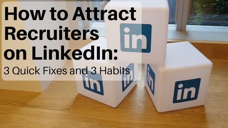 How to attract recruiters on LINKEDIN Resume Tips Pinterest - linkedin resume tips