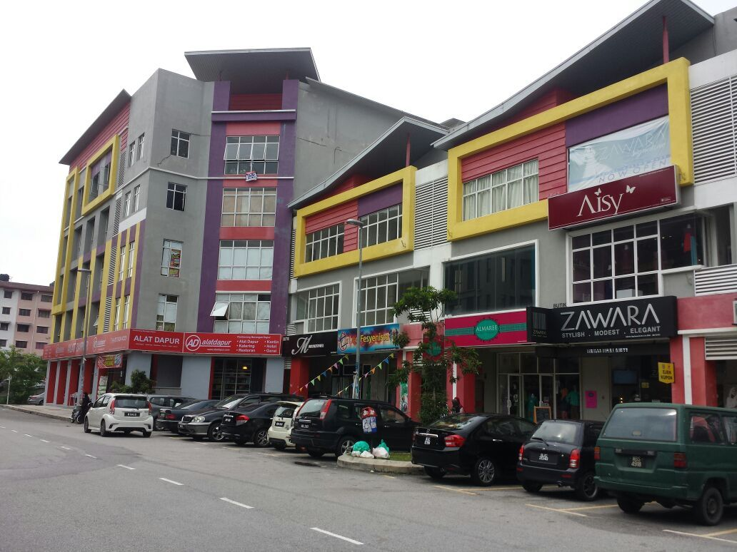 1650sf Laman Seri Next Nkve Shah Alam 1st Floor Office Jakel Yen 7 Land Area 22 X 75 Location To Federal