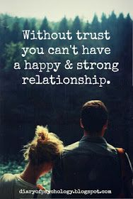 dealing with trust issues for a healthy relationship