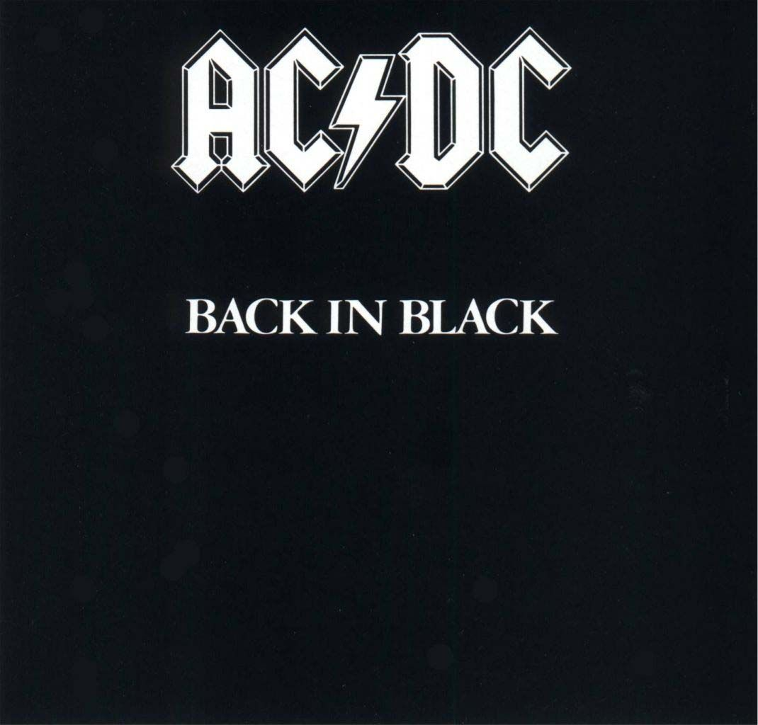 July 25 1980 Ac Dc Released Their Sixth Internationally Released Studio Album Back In Black The First Ac Dc Album Recorde Acdc Back To Black Album Covers
