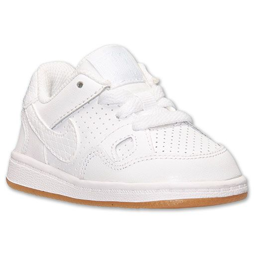 Toddler Nike Son Of Force Basketball Shoes | Finish Line | White/White