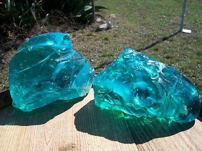 Glass Rocks, Slag Glass Chunks