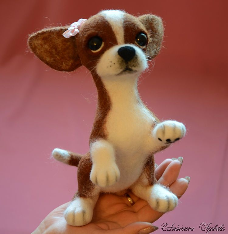 Игрушка маленькая собачка