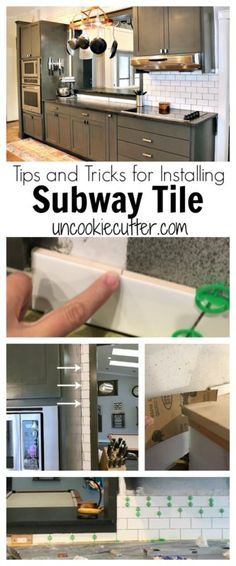Subway tile tips and tricks for installing it yourself subway kitchens subway tile is a classic timeless backsplash that you can install yourself solutioingenieria Choice Image