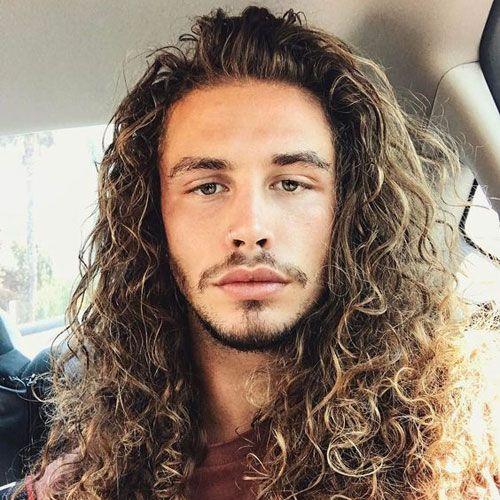 Long Curly Hair Long Hair Styles Men Curly Hair Men Long Hair Styles