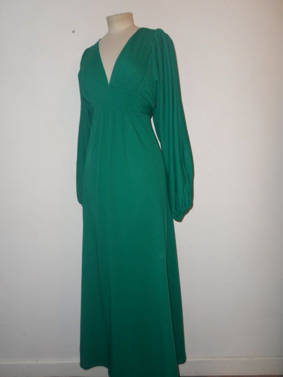 RARE original vintage 1970\'s 70\'s Ossie clark dress, Amazing balloon ...