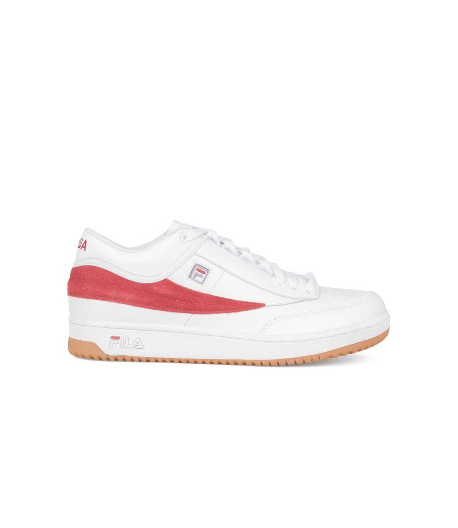 Gosha Rubchinskiy x Fila T 1 Mid Sneakers WhiteRed