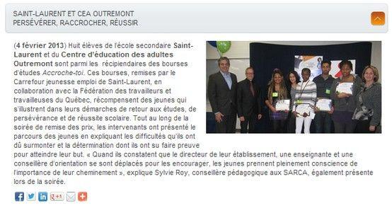 Saint Laurent Bourses D Etudes Scolaire