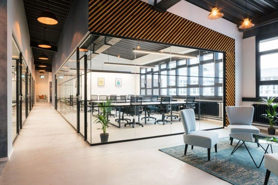 42 Relaxing Modern Office Space Design Ideas Modern Office Space