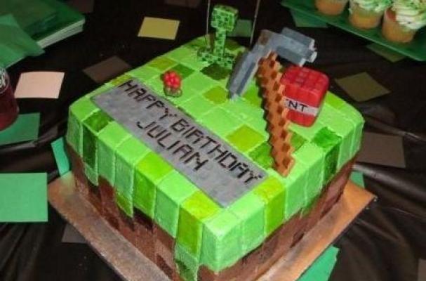 Must See Minecraft Cake Minecraft cake Cake and Birthdays