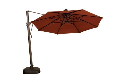 11 Octagon Akz Umbrella From Treasure Garden Umbrella Patio Patio Umbrella