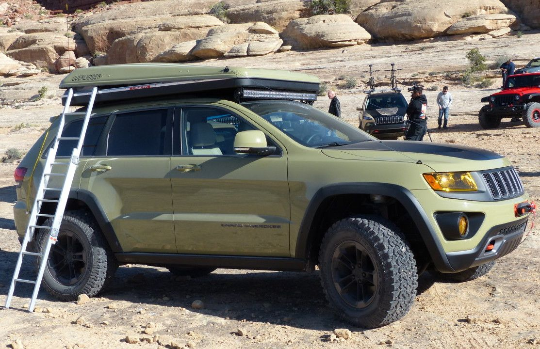 The Jeep Grand Cherokee Overlander Concept What It S Like To