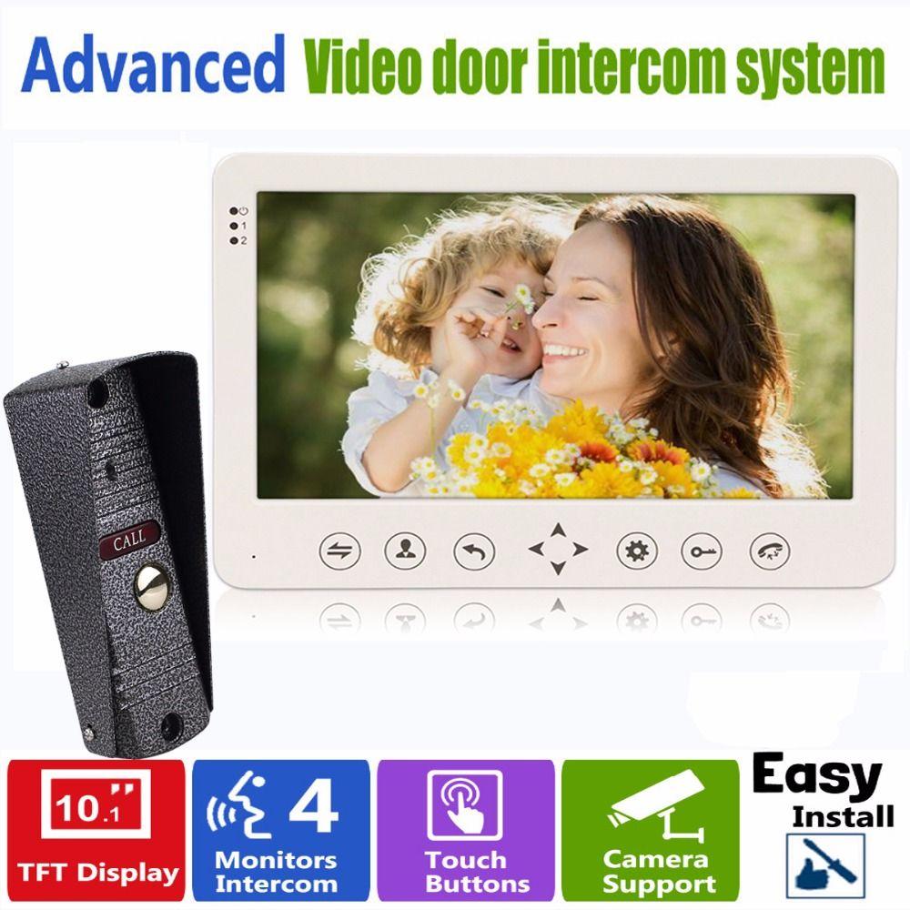 10\  TFT Video Intercom Dual-way Door Monitor Video Door Phone Recorder System Supported  sc 1 st  Pinterest & 10\