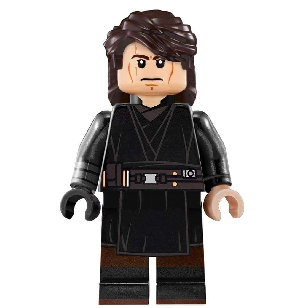 Lego Anakin Skywalker From Star Wars Revenge Of The Sith Edited By Me Legocustoms00 Lego Anakinskywalker Starwars Sw3 Legosw Legostarwars Anakin