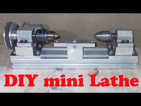 Homemade Wood Metal Mini Drill Lathe Projectshomemade In Home Is Turned A And Miscellaneous Other Tool Parts Into Functioning