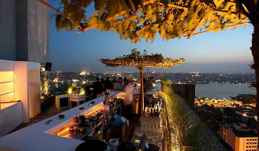 Restaurante Mikla, Estambul, Turquia