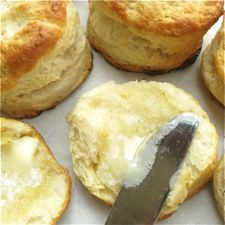 Bakewell Cream Biscuits.  Tall and fluffy.  With freezing instructions.  Posted at King Arthur Flour.