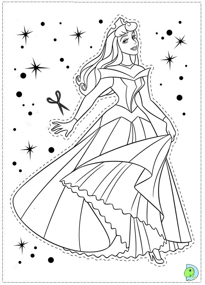 sleeping beauty coloring pages Coloring page Coloring