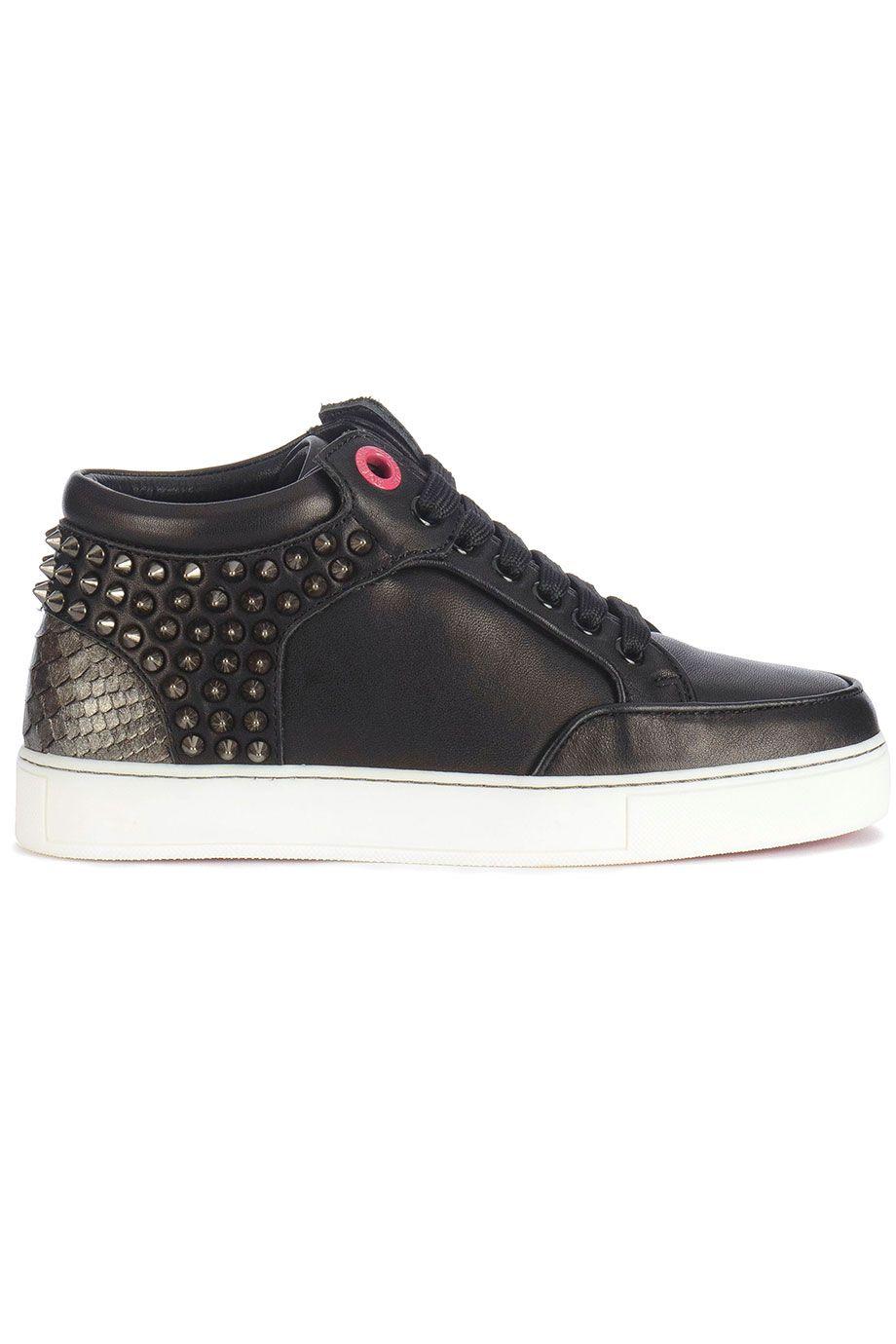 8c35c1b2c16 Trendy Royaums Kilian Black/ Titanium (zwart) Dames sneakers van het merk  royaums . Uitgevoerd in zwart.