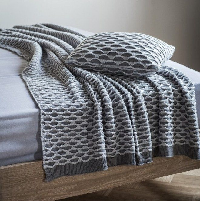 Gallery Direct Arcos Knitted Throw | Knitted throws, Blanket ...