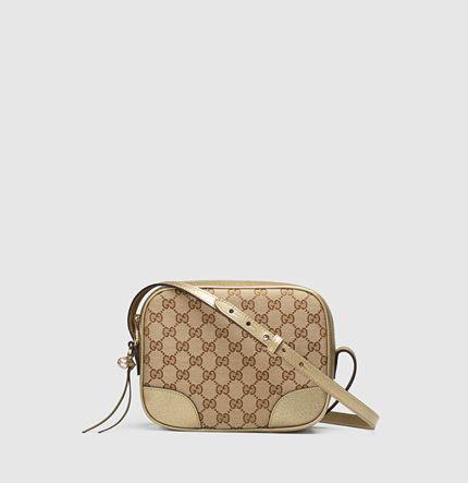 0a3756c9fef092 Bree Original GG canvas mini messenger bag | Arm Candy. | Pinterest ...