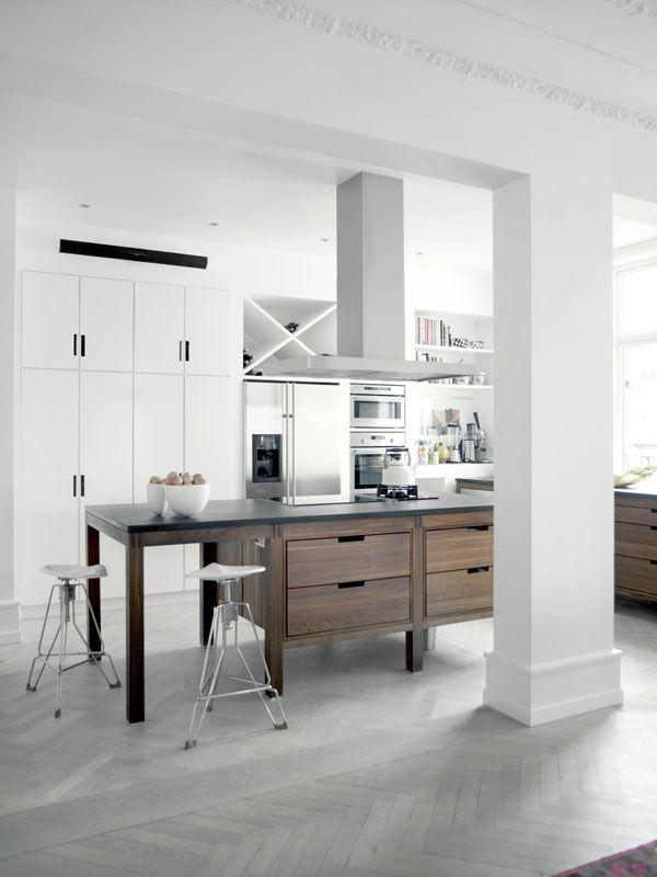 Spacious Apartment In Copenhagen Suelo Parquet Modulos Y