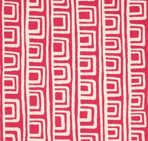 Pink Squares Decorative Designer Pillow Cover by WhitlockandCo