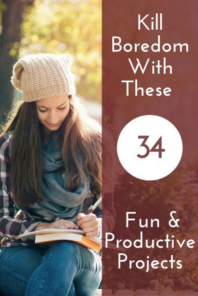 Kill boredom with these 34 fun and productive projects do it kill boredom with these 34 fun and productive projects hobby ideas diy projects weekend projects how to occupy your time ideas for retirement solutioingenieria Image collections