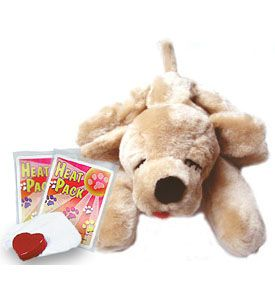 Puppy Toy With Heartbeat Golden Dog Comforting Feel Of Mother S