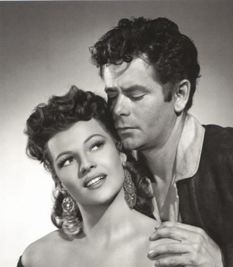 Glenn Ford and Rita Hayworth in Loves of Carmen