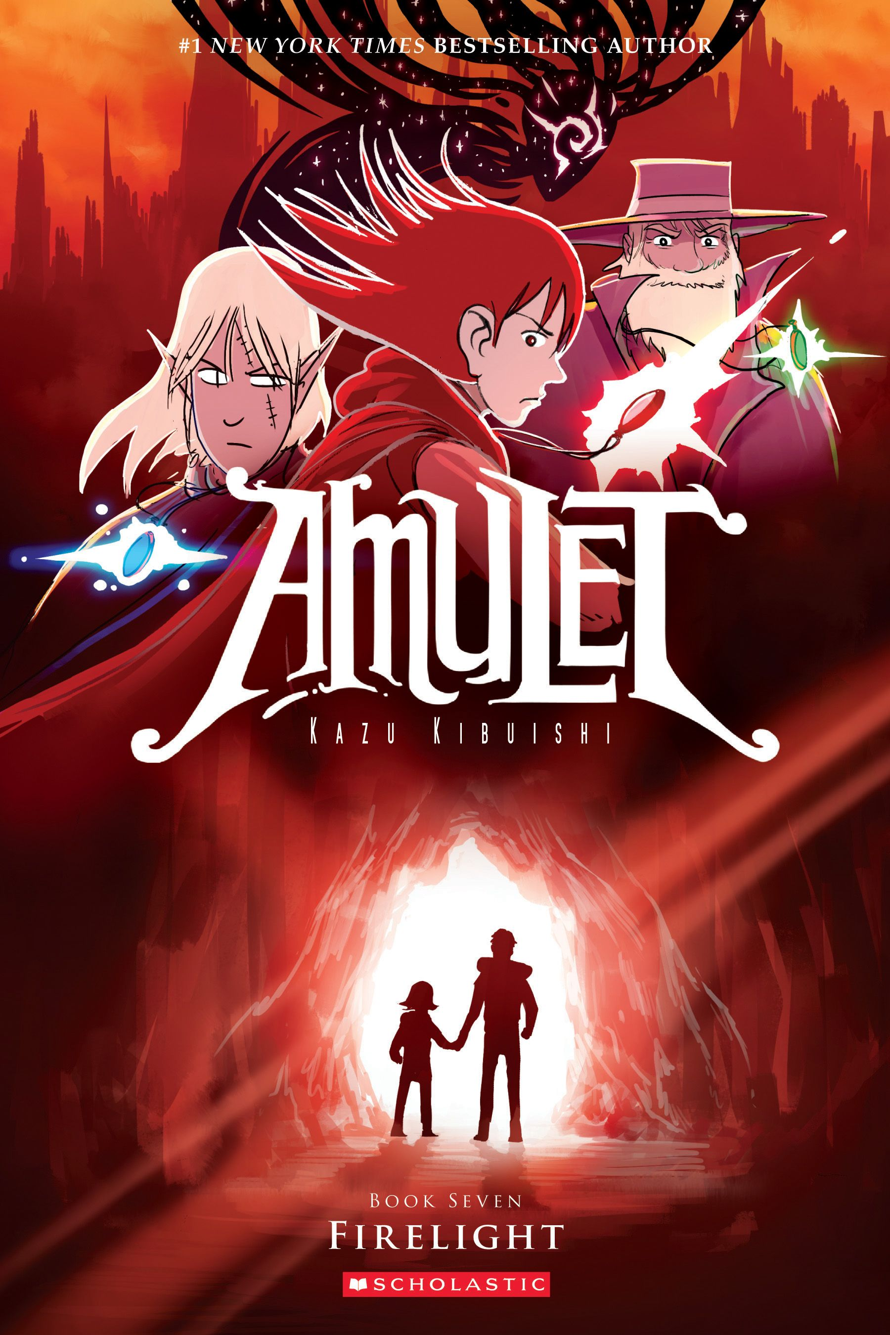 Amulet Book Seven: Firelight By Kazu Kibuishi