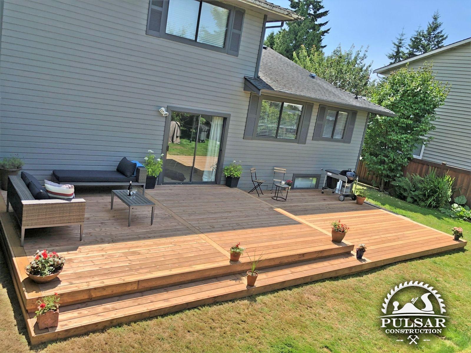 Split Level Patio Deck Modern Design Deck Designs Backyard Patio Deck Designs Patio Plans