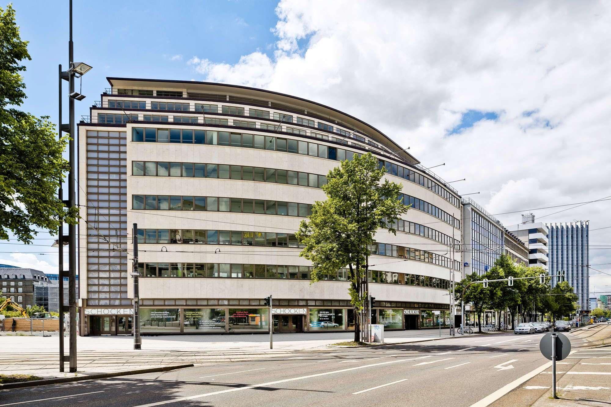Architekten Chemnitz bandfenster mit nachtdesign schocken in chemnitz als museum