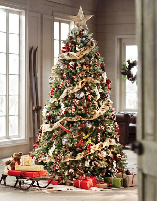 traditional christmas tree decorations - Traditional Christmas Tree Decorations